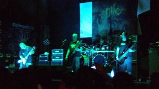 Nile - black seeds of vengeance @ kmasu, Chile 2015