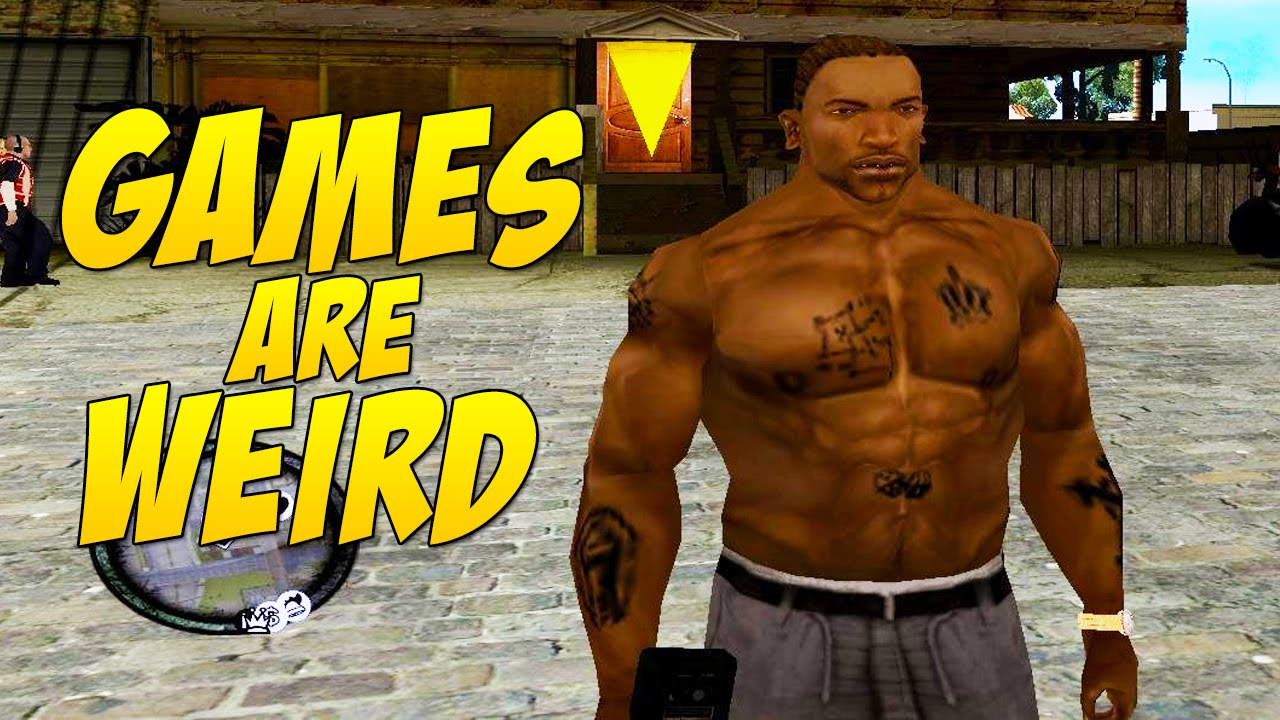 cj doesn t lift games are weird 139 youtube