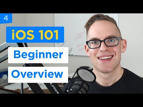 Xcode 9 Beginner Tutorial for Non-Programmers - iPhone Apps 101 (4/30)