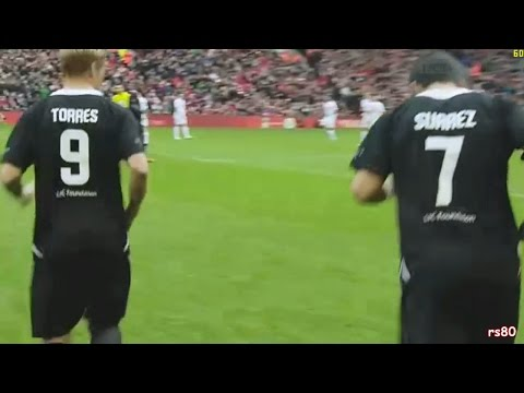 Liverpool Charity Match - Suarez & Torres Return