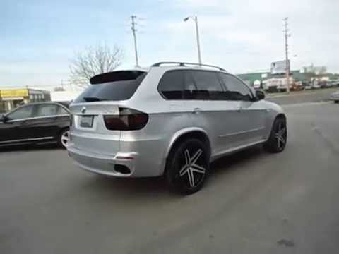Bmw X5 22 Lexani Concave R5 Staggered Done By Factory Tire Rubber 416 744 1414