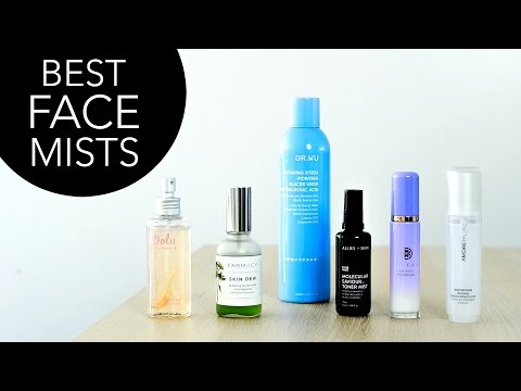Best Face Mists! My Current Faves