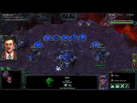 StarCraft 2 Co-op - World on Fire (Weekly Mutation)