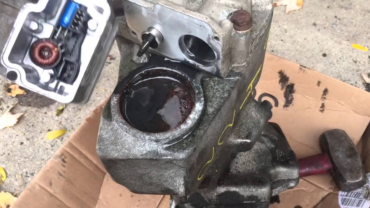 Oil Pump Dem Module On Haldex Rear Differential On A Volvo