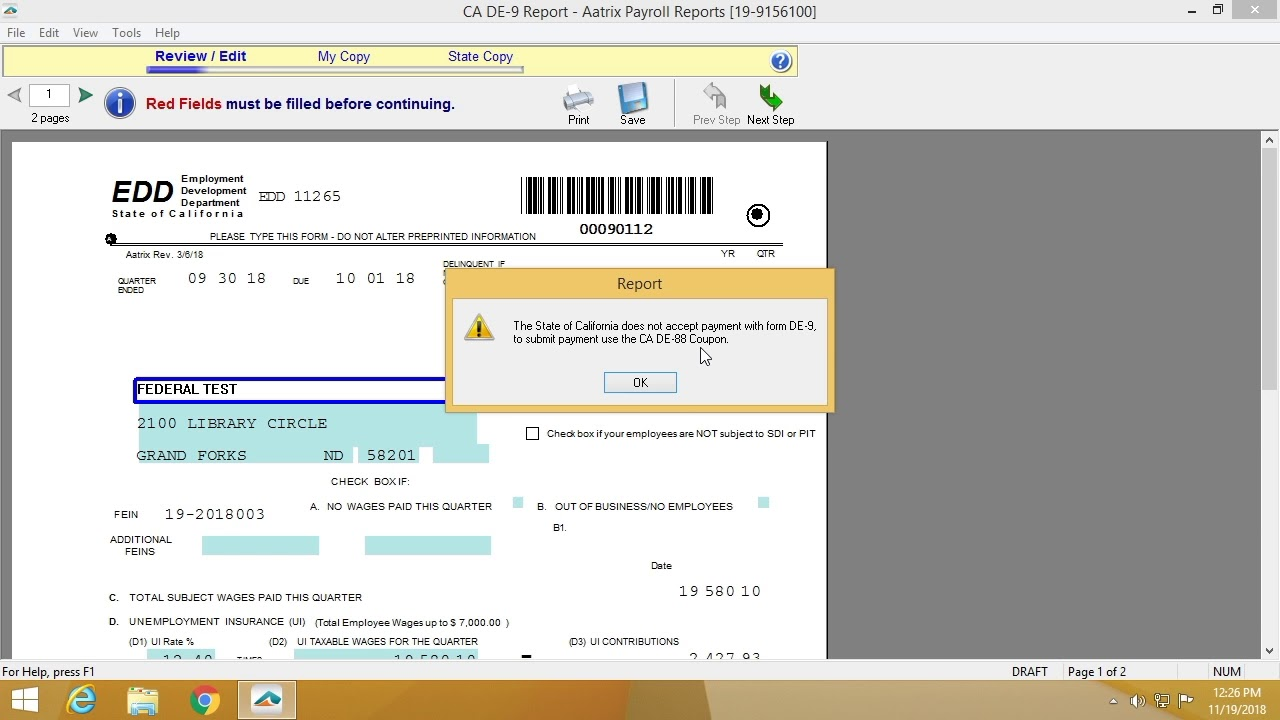 eFiling State Payroll Forms - YouTube