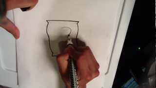 How to Draw a Bag of Potato Chips - Easy Drawings