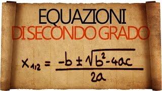 Equazioni di secondo grado