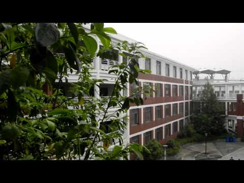 High School in Wuhan, China
