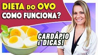 dieta do ovo como funciona tipos cardpio e dicas emagrece