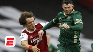 Arsenal vs. Sheffield United reaction: How David Luiz 'incident' helps Gunners to win