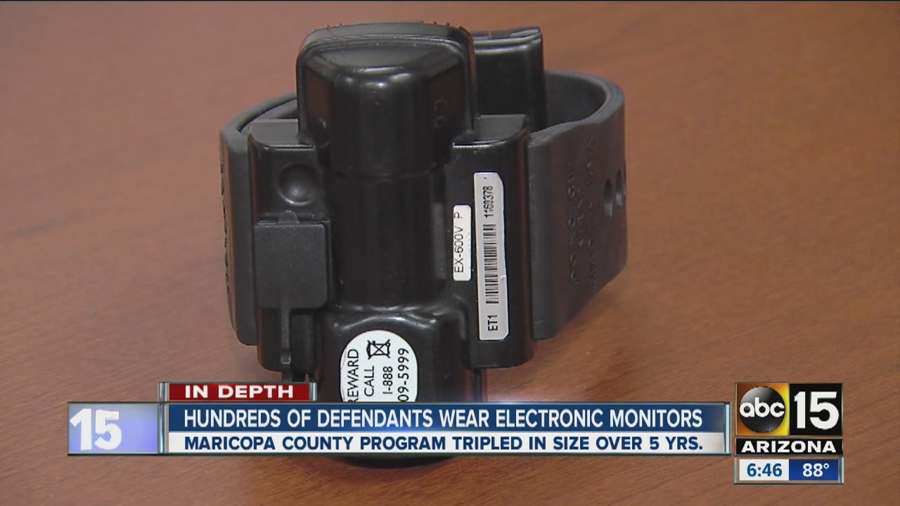 Hundreds Of Defendants Wear Electronic Ankle Monitors Youtube