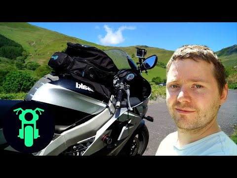 Motorcycle Touring Wales