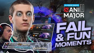 FAIL and FUN moments of WePlay AniMajor