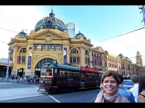 DESTINO AUSTRALIA:  PERDIDOS POR MELBOURNE DIA 2