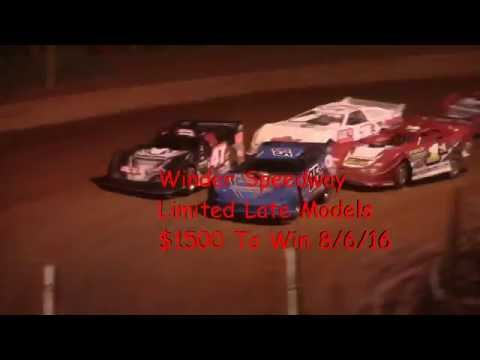 Winder Barrow Speedway Limited Late Model Feature 8/6/16