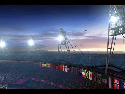 CLOSING CEREMONY of LONDON 2012 Summer Olympic Video Game & CREDITS in HD