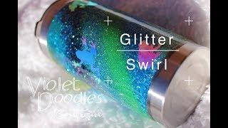 Glitter Swirl- Stainless Tumbler