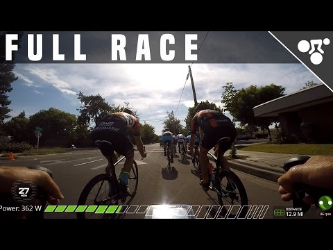 FULL 75 MIN CRITERIUM RACE W/COMMENTARY (INDOOR CYCLING VIDE