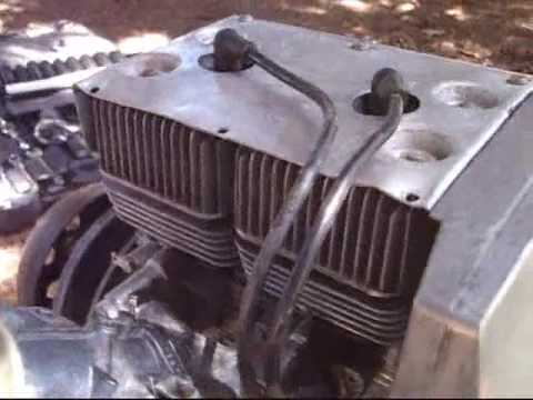 running a 1972 440cc rockwell jlo snowmobile engine - youtube
