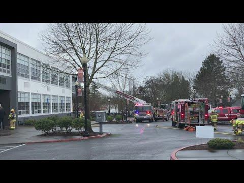 Beaverton High School Fire Cause