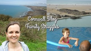 Cornwall: The Utterly Amazing/Crap Holiday (SONY HX80 VLOG) ○ Kirsty Dee