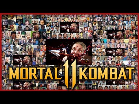 MORTAL KOMBAT 11 All Fatalities Gameplay Trailer Reactions Mashup (+Single Prologue Trailer PS4) thumbnail