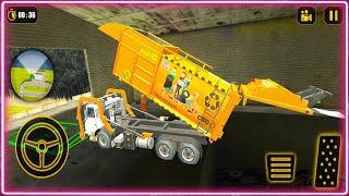 Trash Truck Simulator - Garbage Truck Driver Simulator 2021 - Android Gameplay 2021