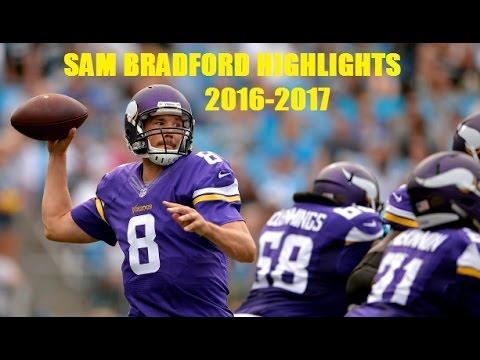 "Sam Bradford ""Wild Boy"" Vikings Highlights (2016-2017) [1080p HD]"