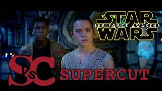 Star Wars: THE FORCE AWAKENS Supercut of ALL domestic trailers
