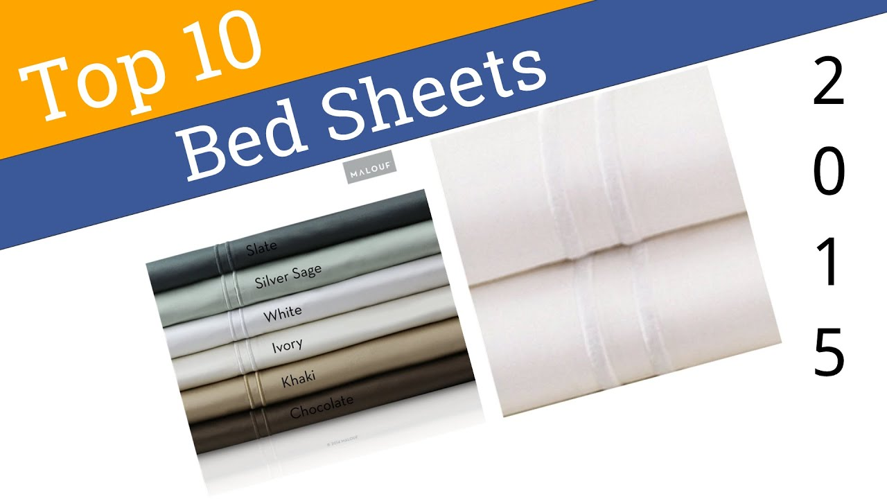 10 Best Bed Sheets 2015