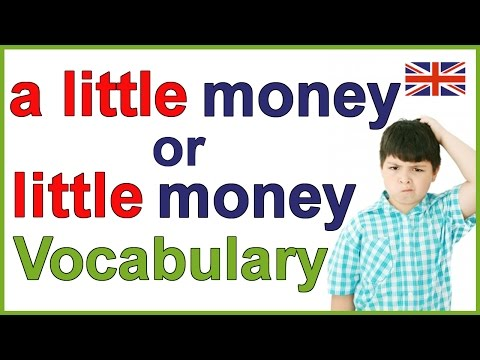 Razlika između A little i Little - Šta je malo a šta je stvarno malo?