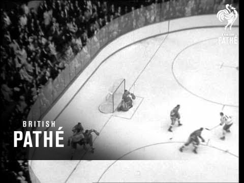 Montreal Beat Detroit 3-2 In Ice Hockey Final (1966)