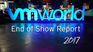 Vmworld 2017 End Of Show Report