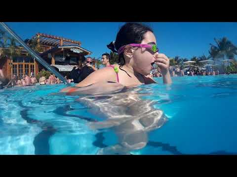 Giant Pool on Harvest Caye Island Norwegian Cruise Lines