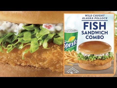 Stash Review's Jack In The Box Fish Sandwich