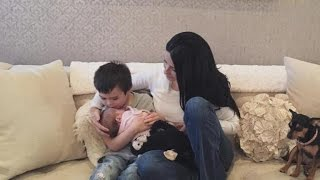 Bristol Palin's Brother Trig Sweetly Kisses Baby Sailor