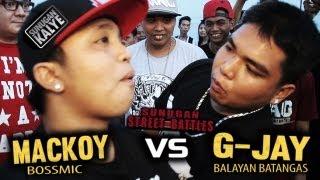 SUNUGAN KALYE   MACKOY vs G JAY   BALAYAN BATANGAS