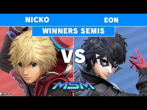 MSM 194 - Demise | Nicko (Shulk) Vs. FS | Eon (Joker) Winners Semis - Smash Ultimate