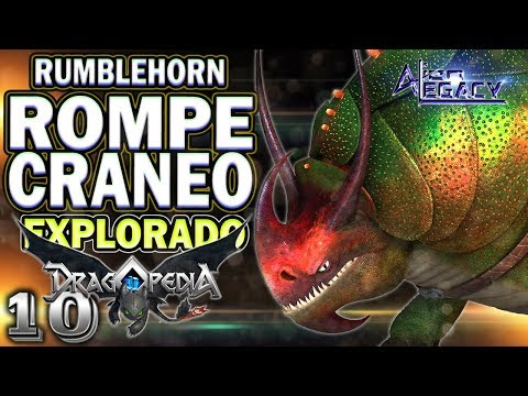 What is the SKULLCRUSHER? RumbleHorn || How to train your DRAGON HTTYD [Alien Legacy]