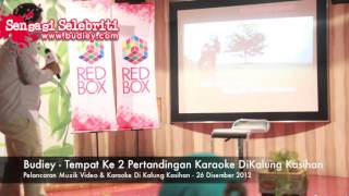 Budiey   Tempat Ke 2 Pertandingan Karaoke DiKalung Kasihan