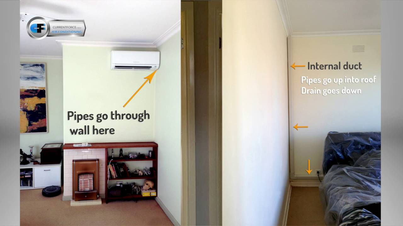 Split System Air Con Wiring Diagram