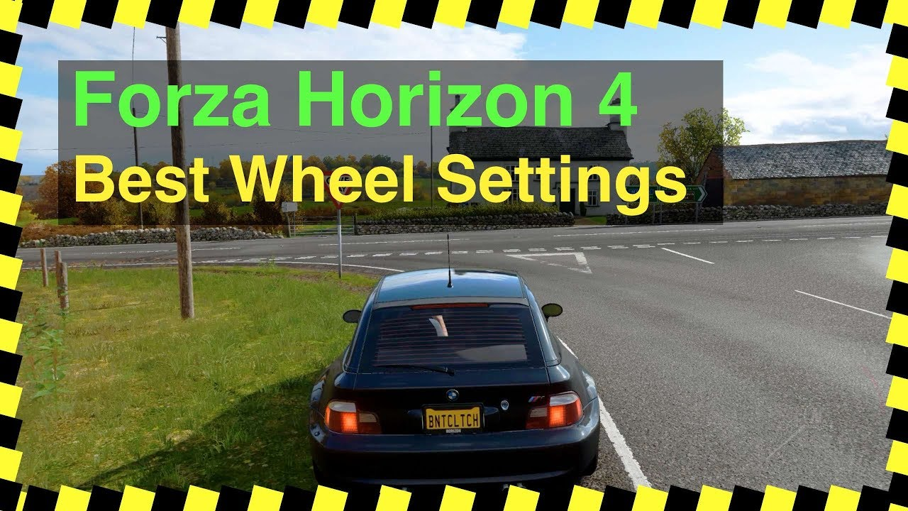 Forza Horizon 4 - Best Wheel Settings (Logitech G29 steering wheel)  #ForzaHorizon4 #LogitechG29