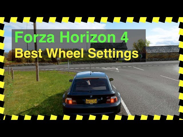 adb7d3128f7 Forza Horizon 4 – Best Wheel Settings (Logitech G29) – Burnt Clutch Gaming