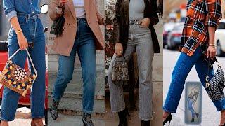 С ЧЕМ НОСИТЬ КЛАССИЧЕСКИЕ ДЖИНСЫ мода для женщин за 50