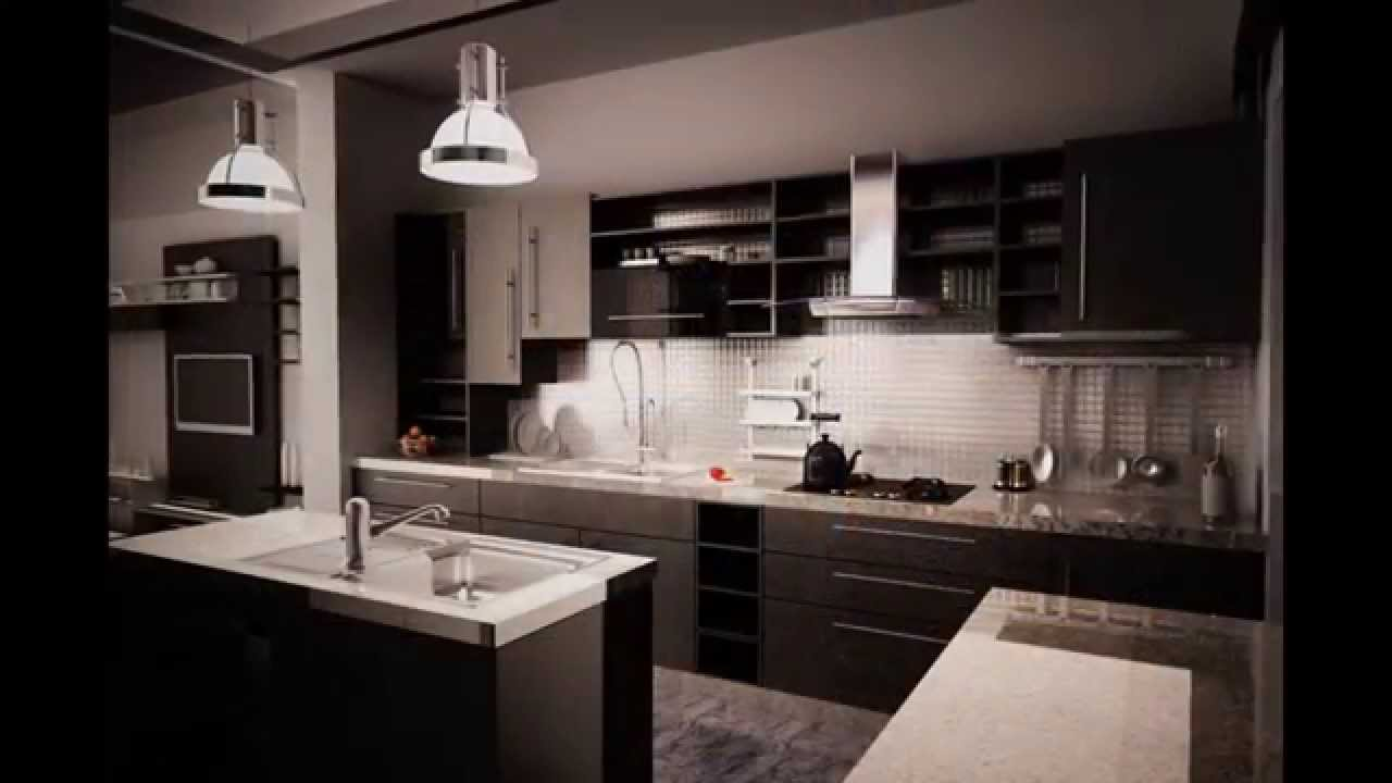 dark cabinet kitchen designs and pictures made of various