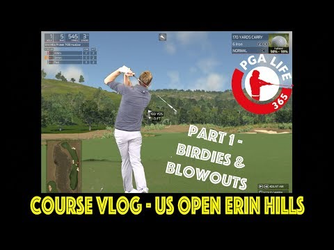 Course VLOG - US OPEN (Erin Hills) Part 1
