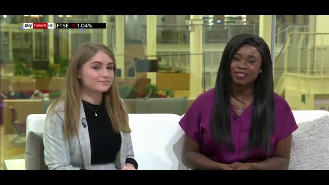 Sky News - Kike Oniwinde & Hannah Blair - Sky Women in Technology Scholarship