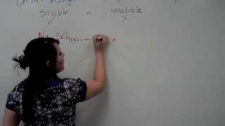Vu Chemistry - Ch 14 Assign II - Writing a dissociation equation