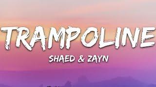 SHAED x ZAYN - Trampoline (Lyrics)