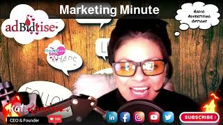 Radio Advertising - Today's Marketing Minute with Kat